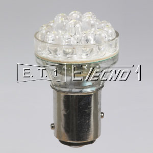 led bulb 12v bay15d 24 led white in box