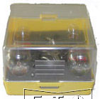 bulbs kit with 12v auxiliary bulbs and fuses